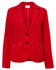 Boiled Wool Blazer
