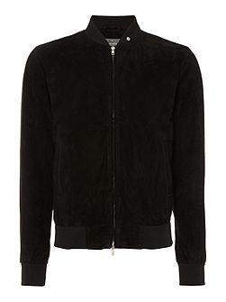 Culford suede bomber jacket