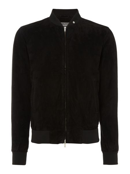 Peter Werth Culford suede bomber jacket