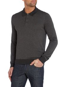 Peter Werth Hemmingford Cut Knitted Polo Shirt