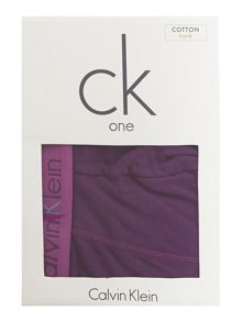 CK one plain trunk