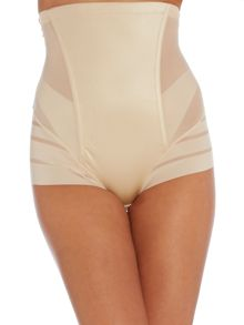 Maidenform Sleek Stripes high waist brief