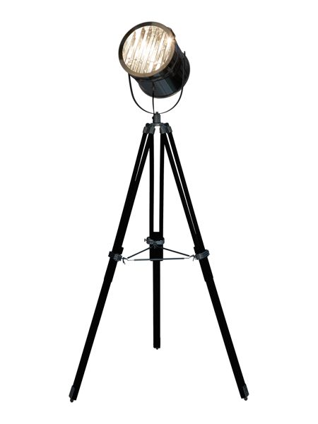 Linea Darcy chrome stage floor lamp