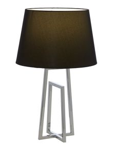Clarke twin pack crossed frame table lamps