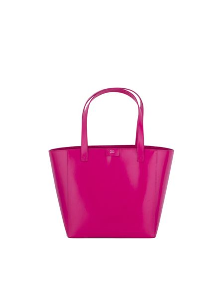 Paper Thinks Red large leather tote bag