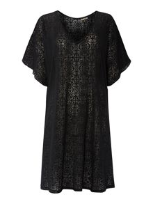 Biba Jersey Burnout Logo Cover Up