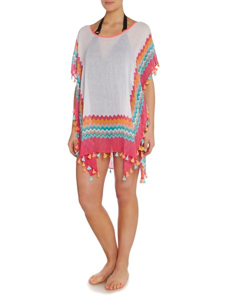 Seafolly Soundwave Drummer kaftan