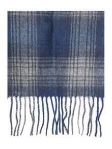 Shadow check international scarf