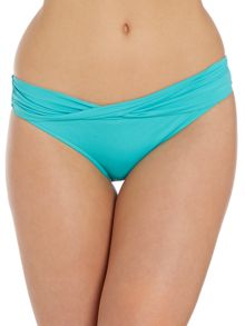 Seafolly Goddess twist band hipster brief