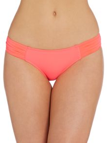 Goddess pleated hipster brief