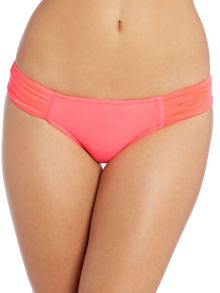 Seafolly Goddess pleated hipster brief