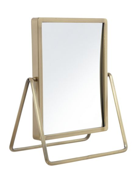 Living by Christiane Lemieux Mirror in Bronze