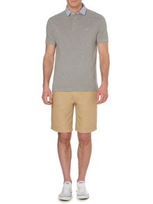 Resort short sleeve pique polo