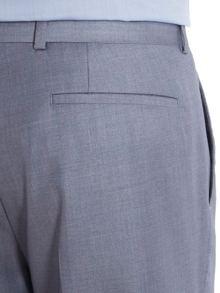 Kenneth Cole Skylar Slim Flat Front Trousers