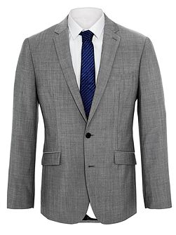 Kennedy grey mohair jacket