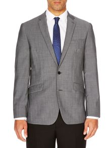Kenneth Cole Kennedy grey mohair jacket