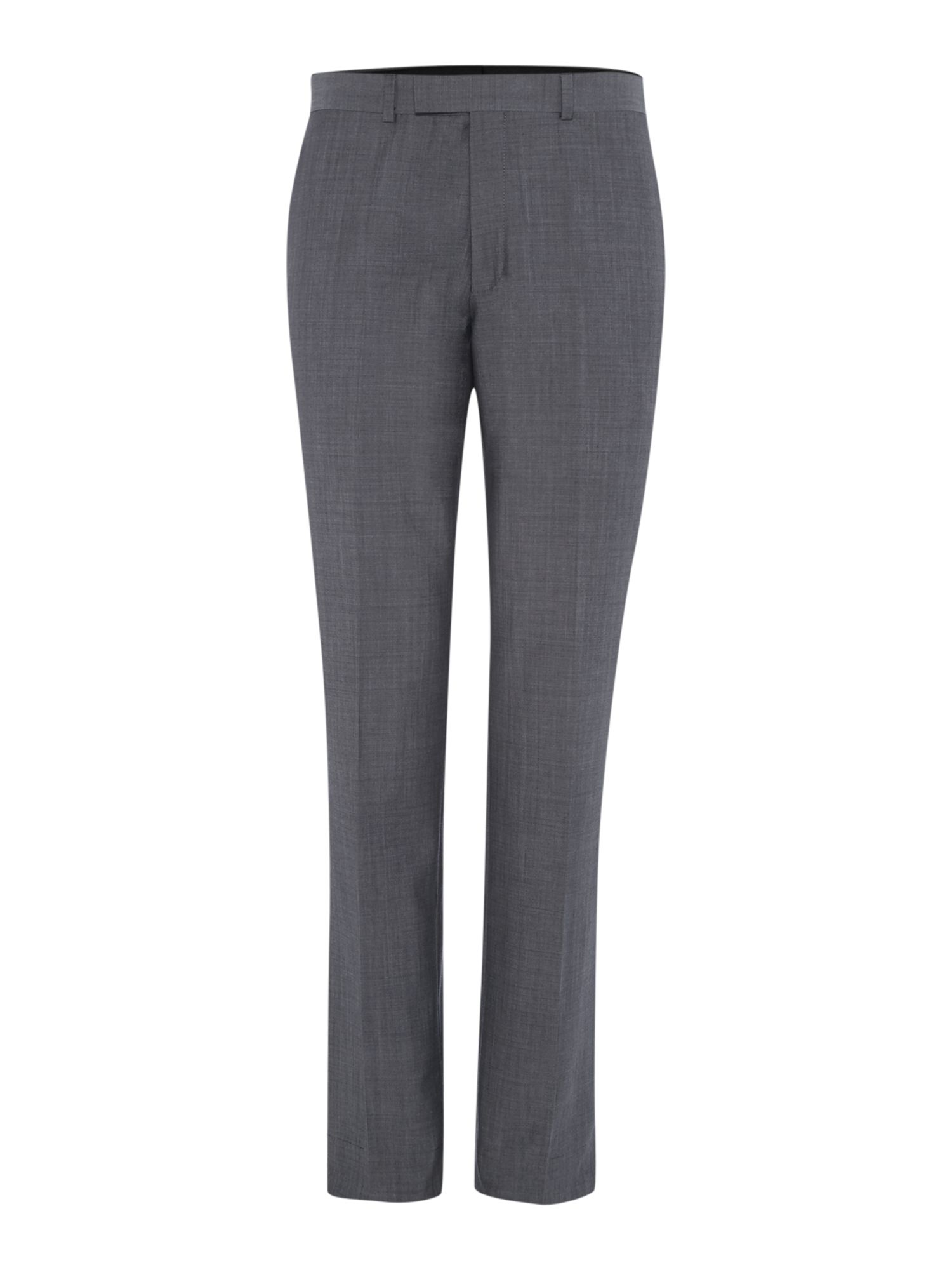 Mens Kenneth Cole Wool mohair suit trousers Grey