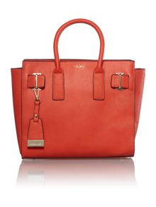 Red large tote bag