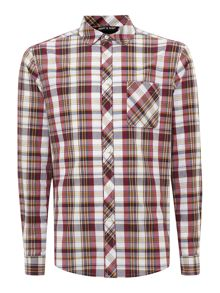 Army & Navy Pitsford Check Long Sleeved Shirt