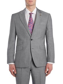 Foxglove peak lapel suit jacket