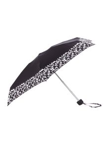 Monochrome mosaic tiny umbrella
