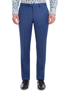 New & Lingwood Balm birdseye suit trousers