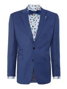 New & Lingwood Balm birdseye suit jacket