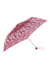 Blurred blooms superslim umbrella