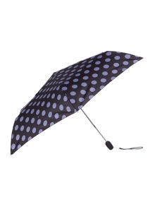 Fulton Midnight circle superslim umbrella