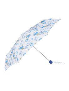 Fulton Poppy bloom minilite umbrella