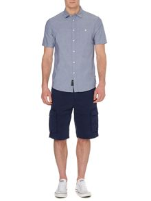 Byron Plain Short Sleeved Chambray