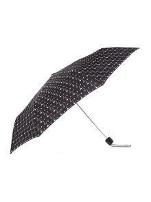 Lulu Guinness Two face water reactive superlight umbrella