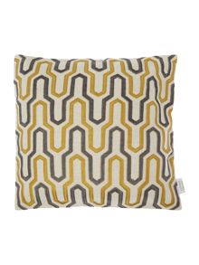 Living by Christiane Lemieux Geometric embroidered, citrine