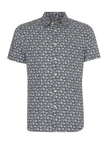 Dale Ditsy floral print short sleeve shirt