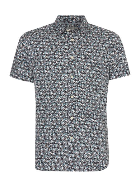 Linea Dale Ditsy floral print short sleeve shirt