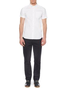 Ace Button Down Collar Short Sleeve Oxford Shirt