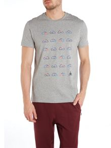 Graphic n°3 bicycle short sleeve t-shirt