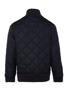 Boys quilted bomber