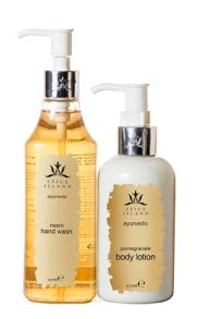 Neem Hand Wash and Pomegranate Lotion