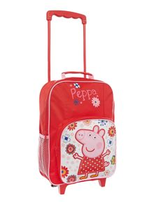 Girls Peppa Pig wheely bag