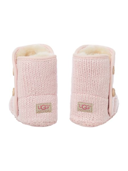 UGG Babys knitted bootie with button