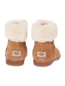 UGG Toddlers Faux Fur Trim Boot