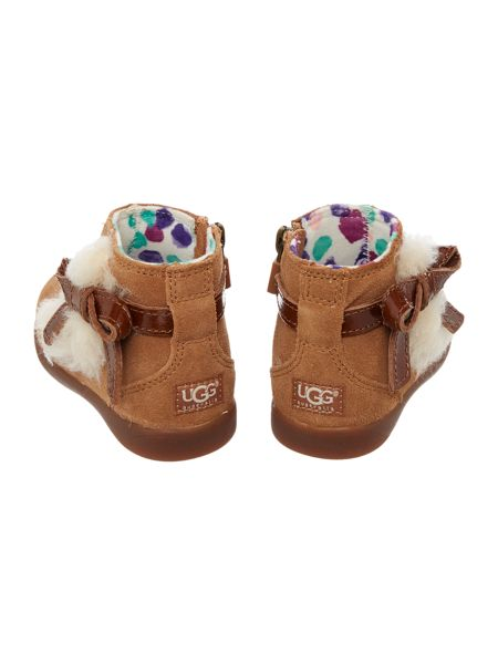 UGG Toddlers Patent Bow Bootie