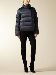 Jaeger: Stretch Satin Short Puffa