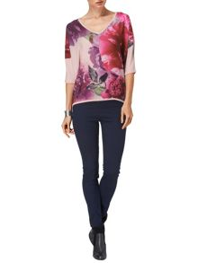 Cheri bloom batwing knit jumper