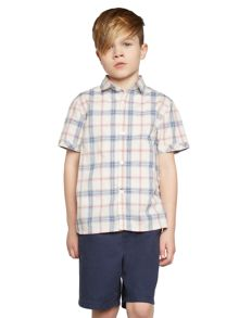 Howick Junior Boys beach house short sleeve shirt