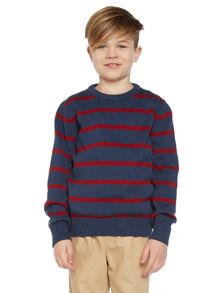 Boys Narrow Stripe Knitwear