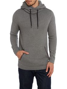 Mens kangaroo pocket knitwear