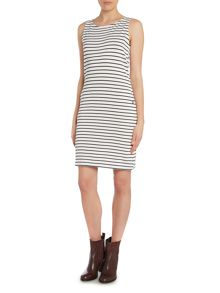Barbour Dalmore stripe jersey shift dress