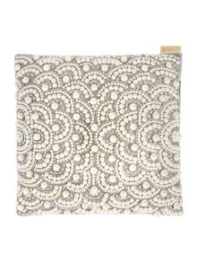 Biba Jewel pearl cushion
